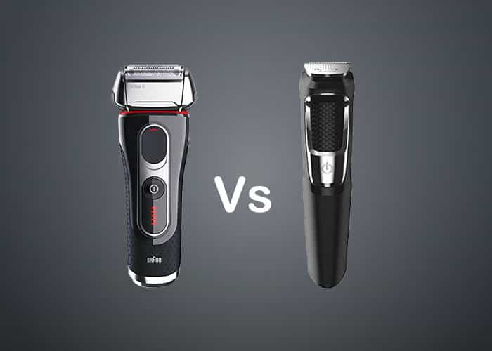 Electric shver vs trimmer