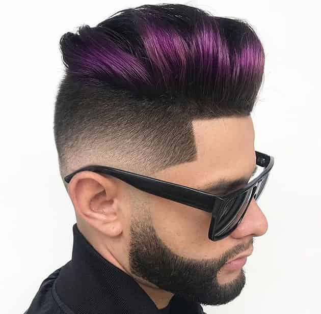 Pomp Fade with Curb