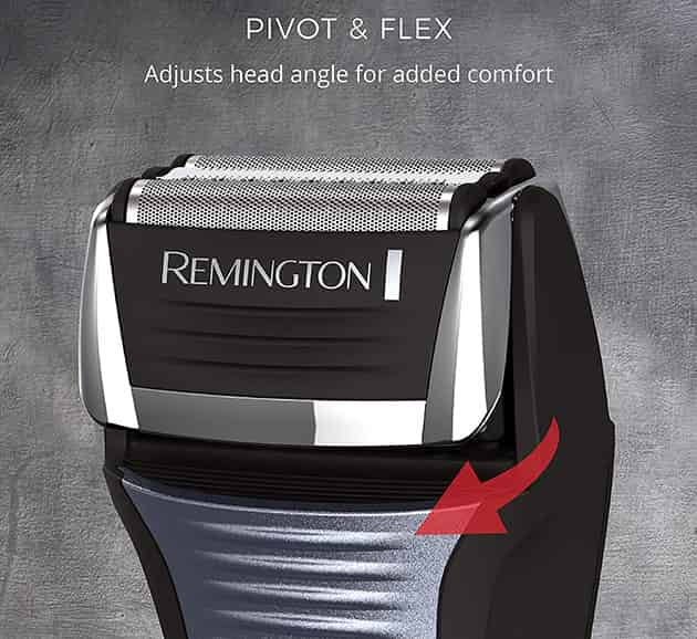 Remington F5-5800 pivoting head technology