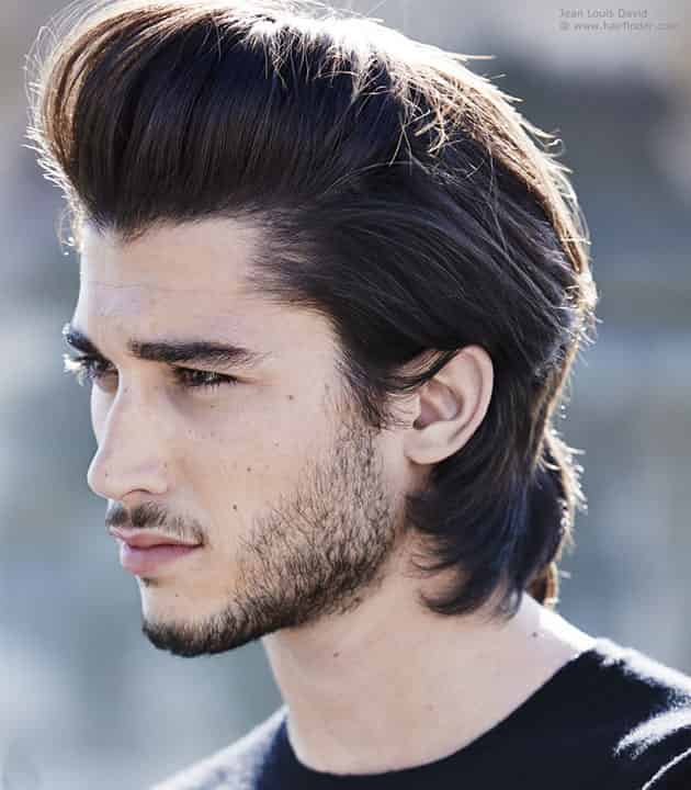 Slick All Over Hairstyle