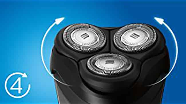 Philips Norelco 3100,-3310-81-electric-shaver-shaverzone.com-flex_head