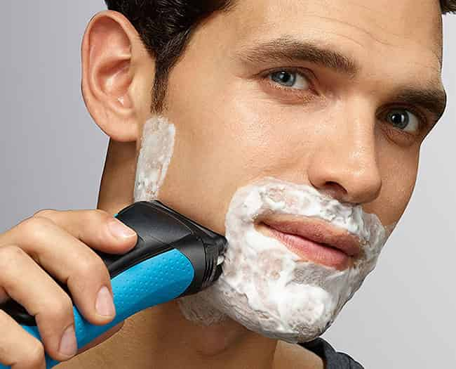 bruan series 3 3040s electric shaver wet-shave