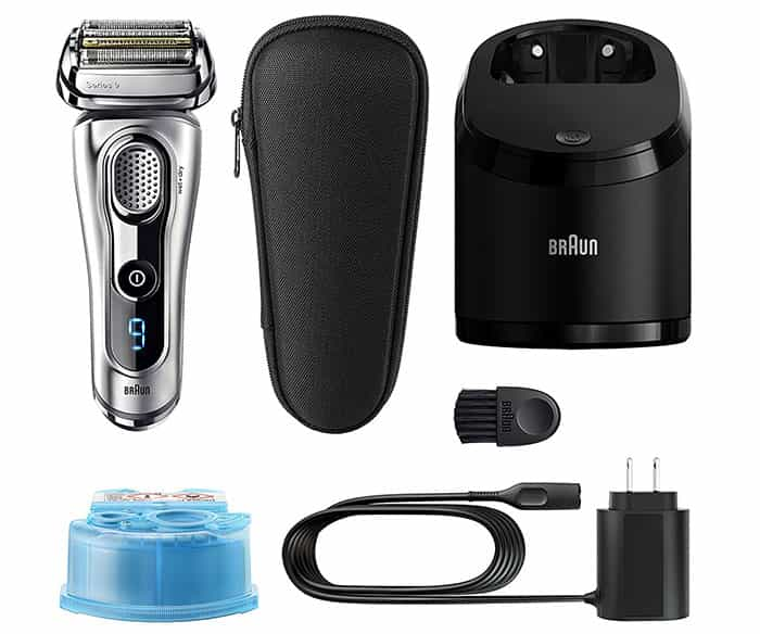 best electric shaver braun series 9 9290cc unboxing