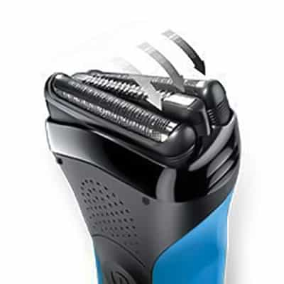 Braun Series 3 310s electric shaver adaption