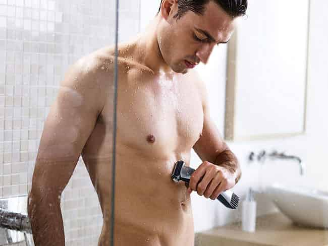 Philips Norelco Bodygroom 7100 BG2040-49 shaving comfortness
