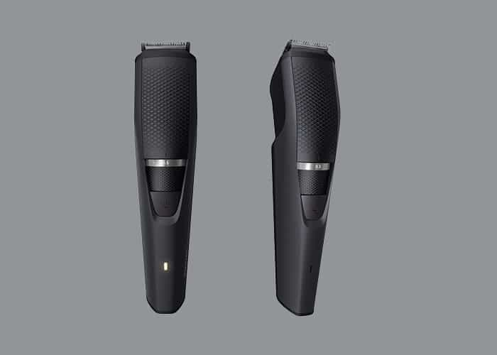philips norelco 3000 beard trimmer sleek design