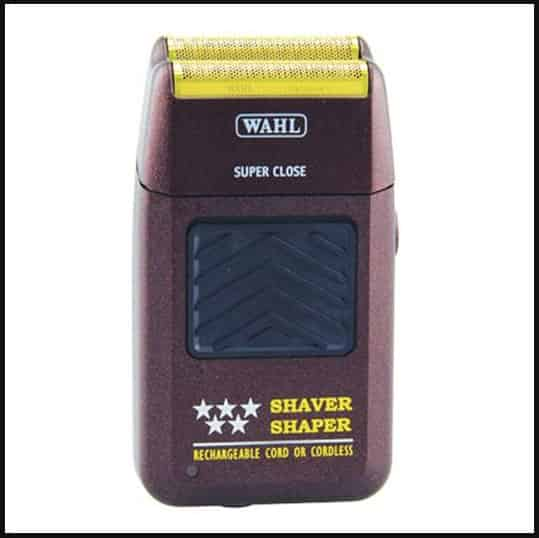 wahl 5 star, travel shaver