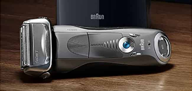 best electric shaver for sensitive skin - Braun series 7 7865cc