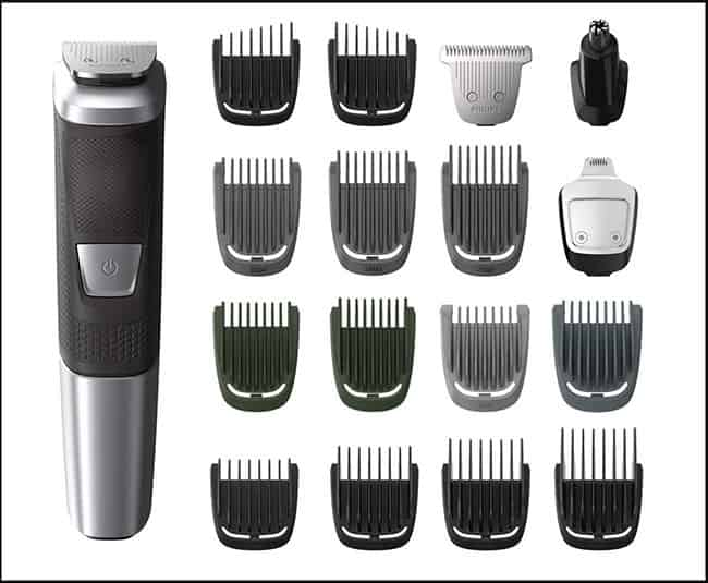 top 10 beard trimmers , Philips Norelco Multigroom 5000