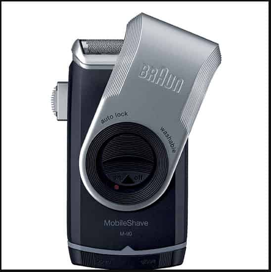 travel shaver Braun m90