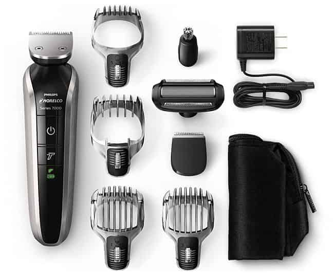 philips Norelco 7100 multigroom MG7750/49 unboxing