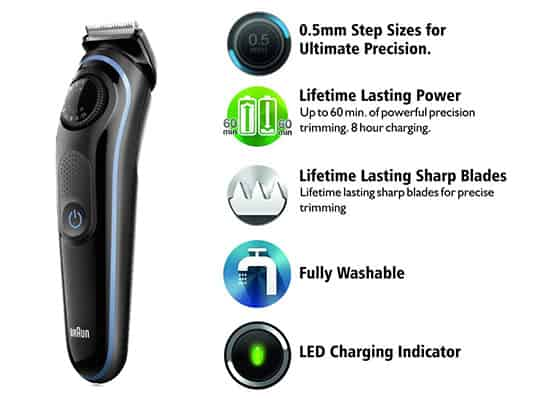 braun bt3040 beard trimmer built quality