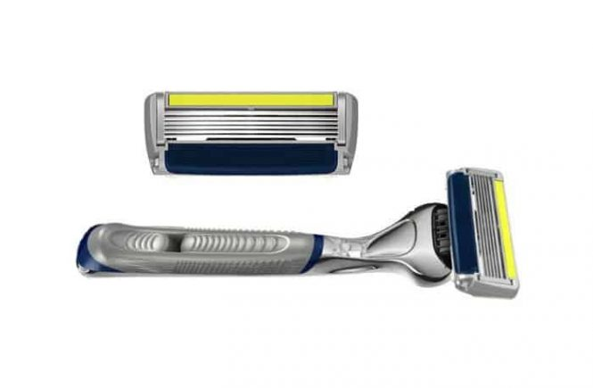 Dorco pace 6 plus disposable razor for close shaving
