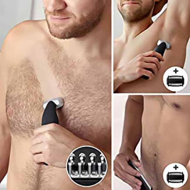 Men's body grooming