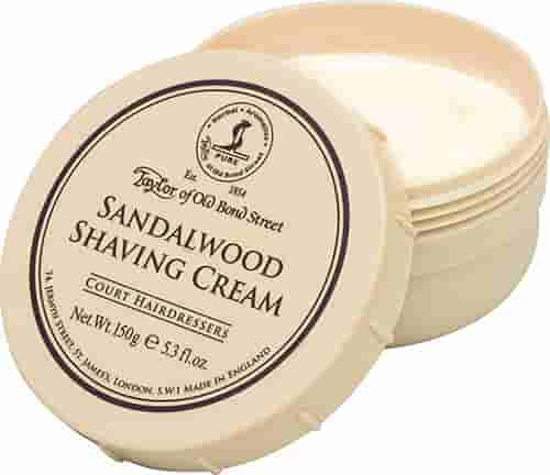 Sandalwood Shaving cream for men