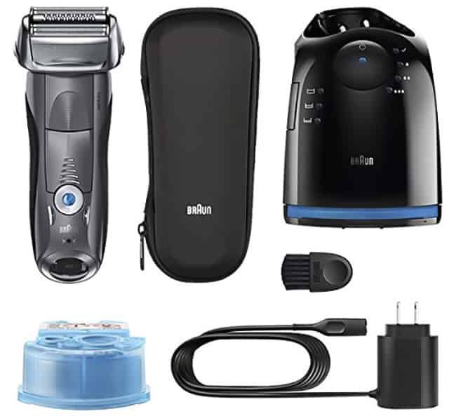 Braun is a Garman build that produces electrical shavers as well as trimmers Braun Series vii 7865cc Electric Shaver Review – Wet as well as Dry Shaver