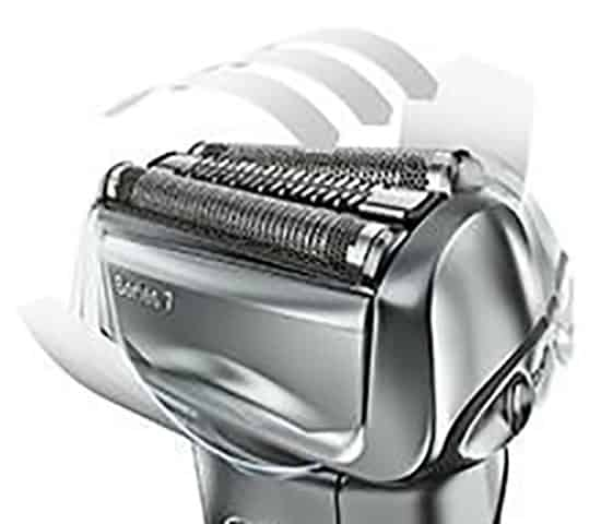 Braun-Series-7-7865cc shaver flexible head