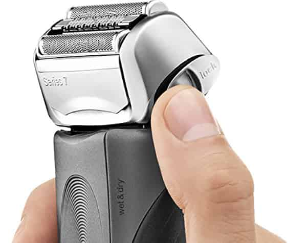 travel friendly shaver Braun series 7