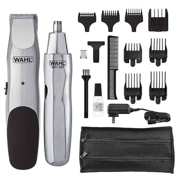 wahl groomsman beard trimmer package