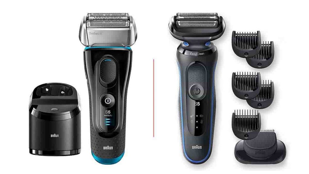 Braun Series 5 Electric Shaver Review and comparison